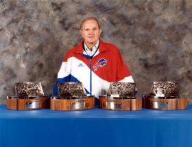Bills owner Ralph Wilson during the championship years of the 1990's.