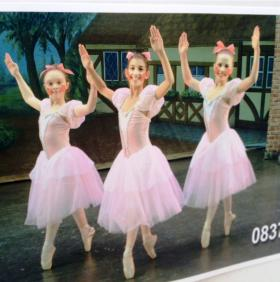 Isabella Kowalski of Buffalo (middle) from past performance of the Greater Buffalo Youth Ballet's Coppelia at Center for the Arts.