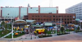 Larkin Square at 745 Seneca Street is the heart of the area that has become known as Larkinville.