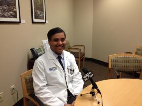 Roswell Park Cancer Institute Radiation Oncologist Dr. Anurag Singh.
