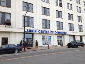 The Larkin Commerce Center where the Buffalo Dream Center is currently located.