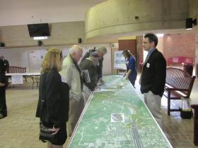 A new concept would slow the travel speeds of the Scajaquada Expressway by adding a roundabout and more grade crossings.