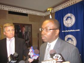 "Mayor Brown says he wants police officials to be ""very aggressive"" on cases of officer misconduct."