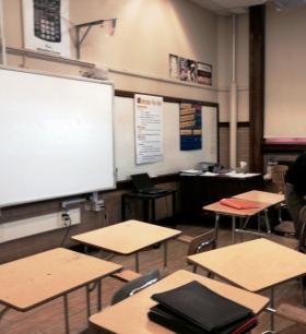 Inside a Buffalo classroom.