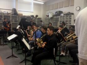 Jazz Ensemble at Buffalo's Performing Arts Academy.