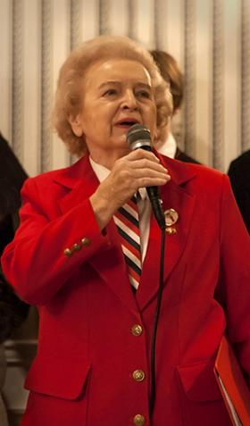 Retired Judge Ann Mikoll has been presiding over Dyngus Day celebrations for 54 years.