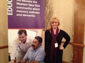 Alzheimer's Association Executive Director Leilani Pelletier.