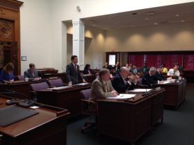 The Erie County Legislature unanimously passes road construction projects.