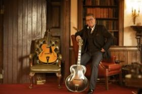 Jazz guitarist Martin Taylor plays a concert this evening at St. Joe's