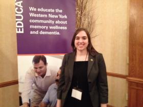 Director of Education and Training with the Alzheimer's Association Meghan Fadel.