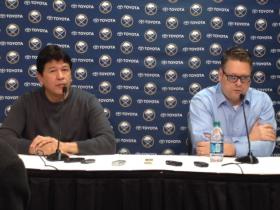 Buffalo Sabres General Manager Tim Murray and Head Coach Ted Nolan recap season at First Niagara Center.