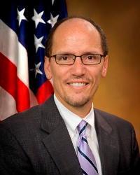Secretary of Labor Thomas Perez is a native of Buffalo.