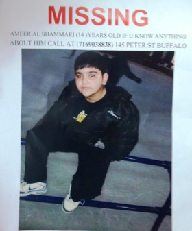 Ameer Al Shammari body was found over the weekend in Buffalo.