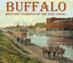 Erie Canal in Buffalo.