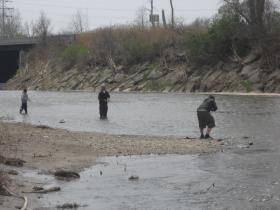 As cleanup efforts continue, the Buffalo River is becoming a favorite for local fishermen.
