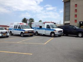 Emergency response vehicles.
