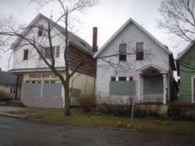 Dilapidated homes on Buffalo's east side