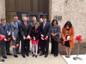 Erie County Health Mall opens at 1500 Broadway in Buffalo.