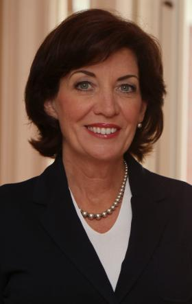 Former Rep. Kathy Hochul could be considered as Andrew Cuomo's lieutenant governor.