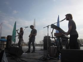 The Albrights provided the sounds Thursday as the 2014 Canalside concert series was unveiled.