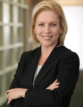 U.S. Senator Kirsten Gillibrand.