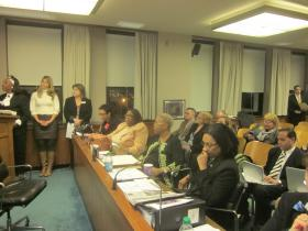 Buffalo Board of Education meeting at City Hall.