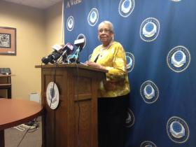 Buffalo School Board President & At-Large member Barbara Seals Nevergold.