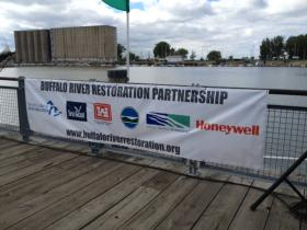 Buffalo River clean up partnership.
