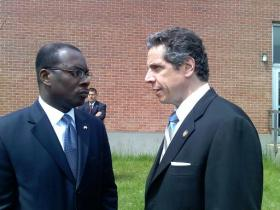 As the New York Democratic Convention approaches, Governor Cuomo is considering a number of candidates as a running mate, including Buffalo Mayor Byron Brown.