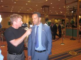 Former Buffalo Bills receiver Andre Reed was among those to pay tribute to Jim kelly Sunday.