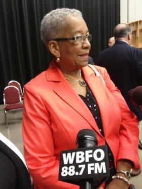 Buffalo School Board President Barbara Seals Nevergold.