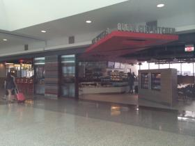 Queen City Kitchen is among the new amenities offered at the Buffalo Niagara International Airport.