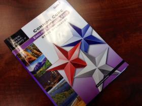 Common Core workbook.