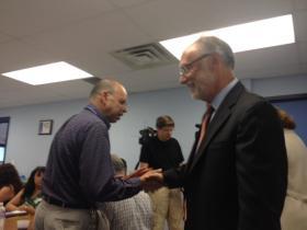 Interim Buffalo Schools Superintendent Don Ogilvie.