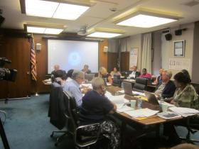 The Buffalo School Board approved a plan for teacher layoffs by a vote of 6-to-2.