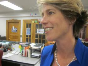 Zephyr Teachout is challenging Governor Cuomo in the approaching Democratic Primary.