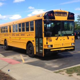 Grand Island school bus.
