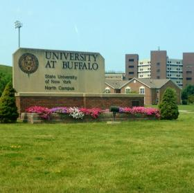 University at Buffalo north campus in Amherst.