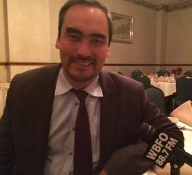 Lieutenant governor candidate Tim Wu shared his thoughts on a number of topics with WBFO's Ashley Hirtzel.