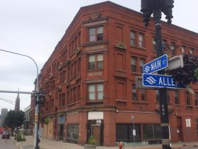 The Red Jacket building at Main and Allen was first built in 1894.
