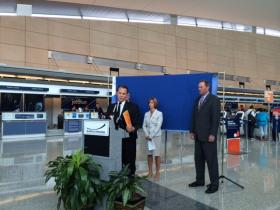Sunwing officials announced the new service out of Buffalo on Tuesday.