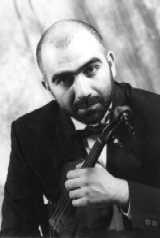 Violinist Movses Pogossian