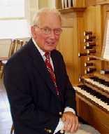 Organist Gerald Wheeler