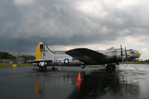 Liberty Belle B-17 Bomber at Prior Aviation in Cheektowaga