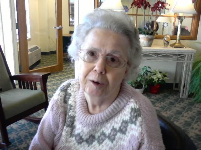 81 year old Ruby Thompson