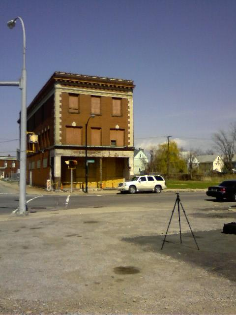 Vacant building on Seneca Street in the Larkin District ready for rehab