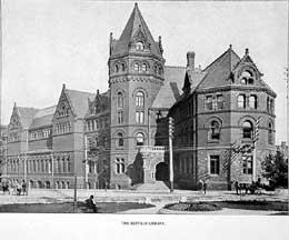 Buffalo Public Library in 1887.