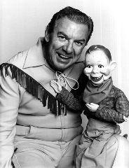 Buffalo Bob Smith and Howdy Doody