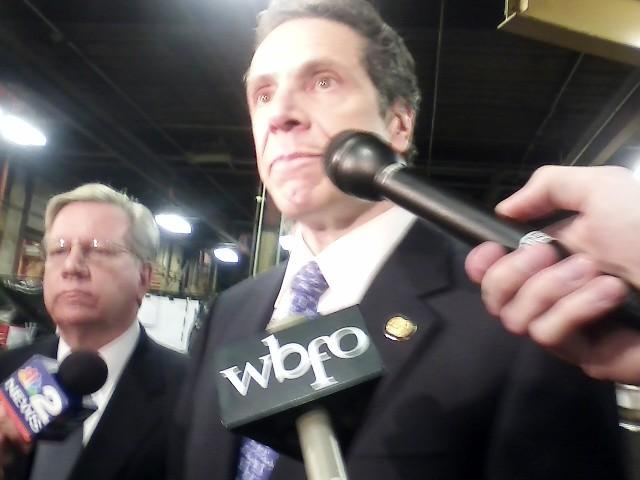 Cuomo issues stern criticism to deniers of NYS role in Buffalo's turnaround   WBFO
