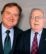 Tim Russert and James Molloy
